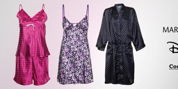 Veselá kolekce dámských pyžam a nočních košil