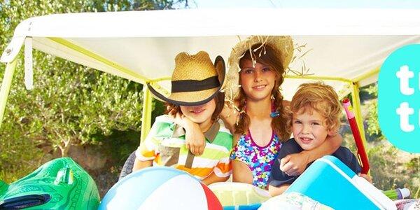 Tuc Tuc - dětské barevné šatičky, trička, šortky a plavky