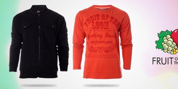 Pánské oblečení Fruit of the Loom - stylová americká klasika