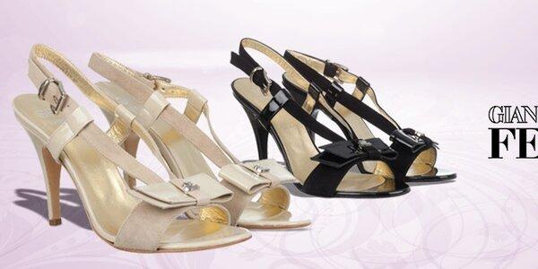 Dámské boty Gianfranco Ferré - elegance šitá na míru