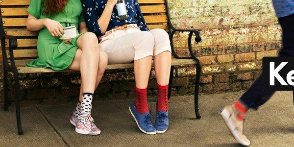 Keds - pohodlná plátěná obuv pro muže i ženy