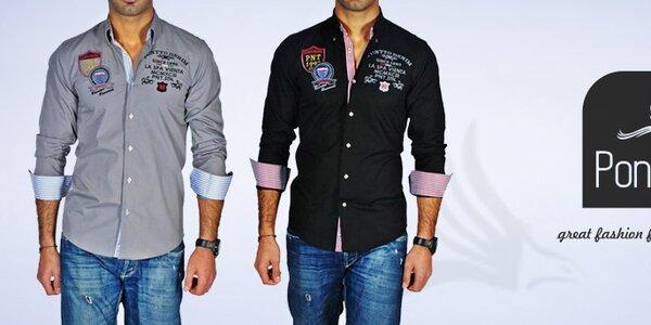 Pánské košile Pontto