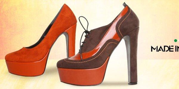 Dámské boty Made in Italia