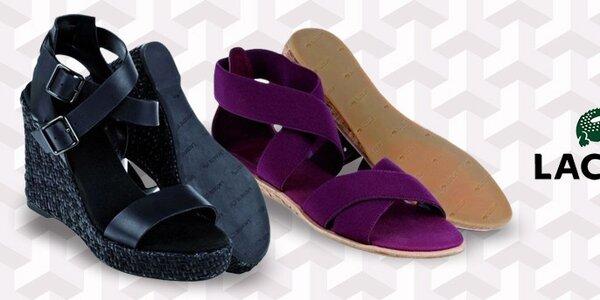Dámské boty Lacoste