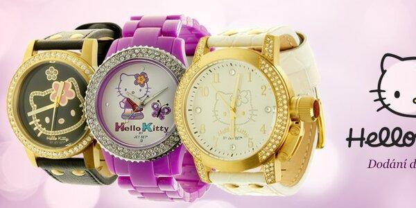 Hravé hodinky Hello Kitty