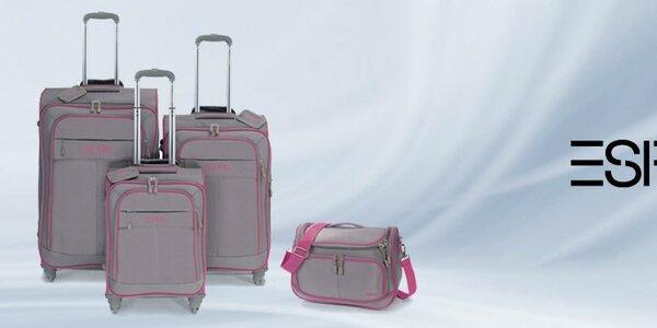 Značkové kufry Esprit