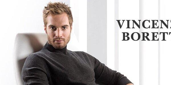 Pánské košile, svetry a kravaty Vincenzo Boretti