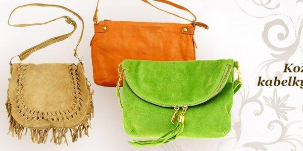Kožené kabelky z Itálie