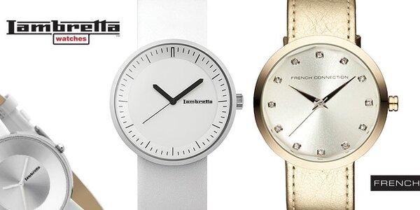 Dámské hodinky French Connection a Lambretta