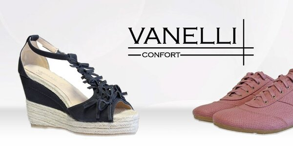 Dámská módní obuv Vanelli