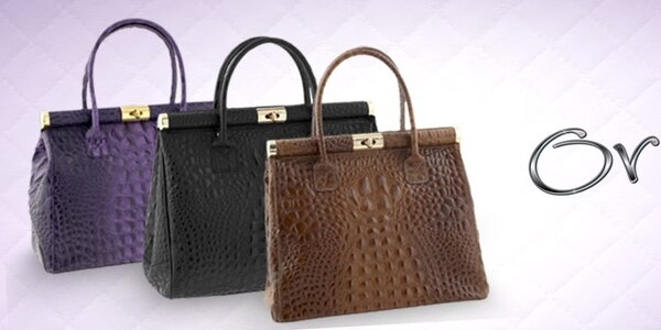 Dámské kožené kabelky Ore 10