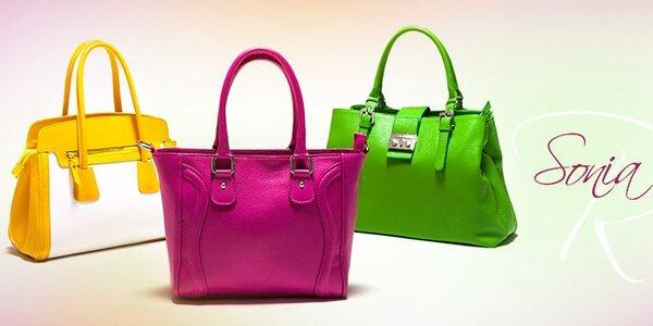Dámské kožené kabelky Sonia Ricci