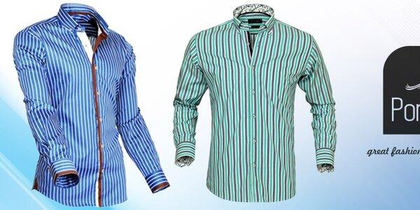 Pánské luxusní košile Pontto