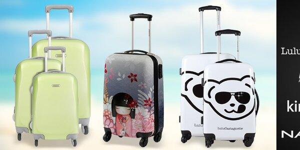 Luxusní kufry Naf Naf a další