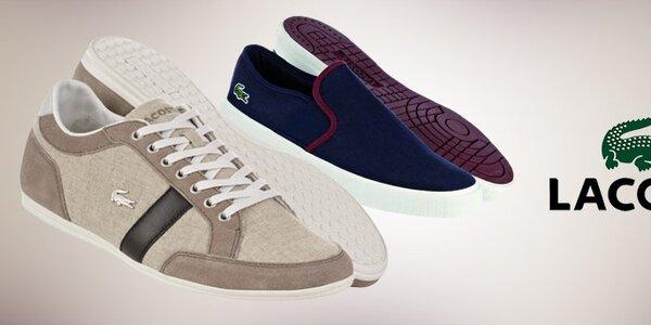 Pánská obuv Lacoste