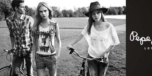 Dámské oblečení Pepe Jeans a Miss Sixty