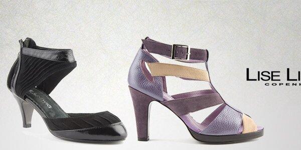 Dámské kožené sandály Lise Lindvig