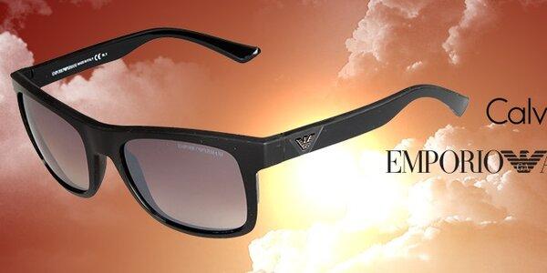 Dámské sluneční brýle Calvin Klein a Emporio Armani