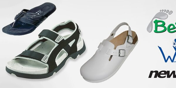Betula, Newalk a World Walker - stylové kožené pantofle