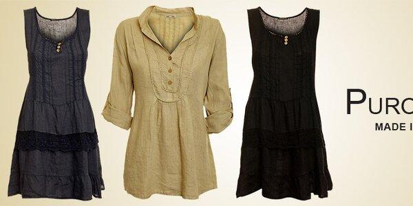 Dámské lněné oblečení Puro Lino
