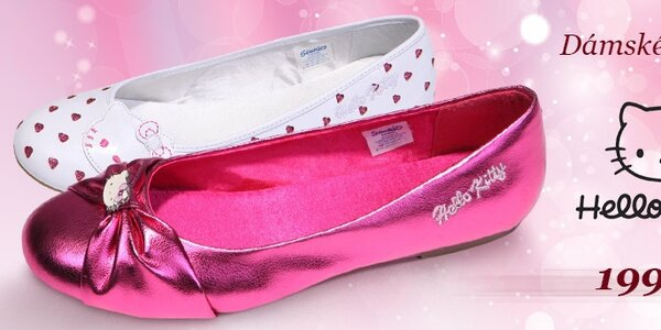 Dámské baleríny Hello Kitty