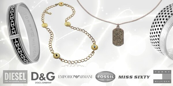 Krásné šperky rozmanitých značek