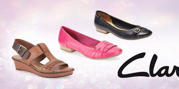 Dámské boty Clarks - elegance a pohodlí