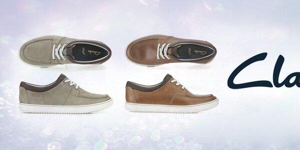Pánské boty Clarks - pohodlí a kvalita