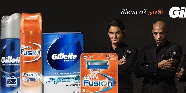 Pánské holení Gillette