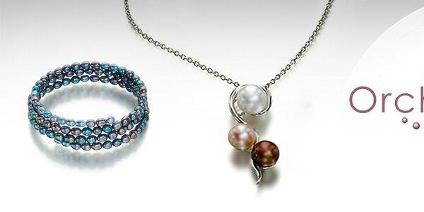 Elegantní perlové šperky Orchira
