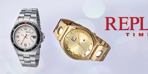 Luxusní hodinky Replay
