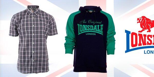 Pánské oblečení od boxerské ikony Lonsdale