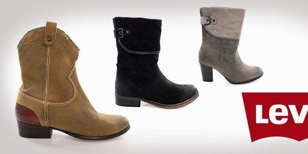 Podzimní boty Levi´s - exkurze do světa kovbojů