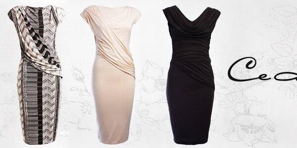Království elegantních žerzejových šatů CeMe London
