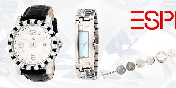 Tak jde čas - luxusní hodinky Esprit