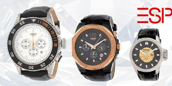 Tak jde čas - stylové hodinky Esprit