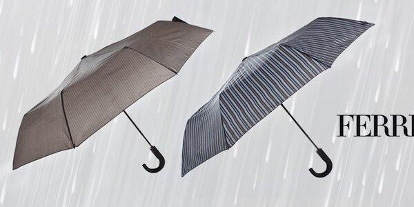 Poručíme větru, dešti - pánské deštníky Ferré Milano