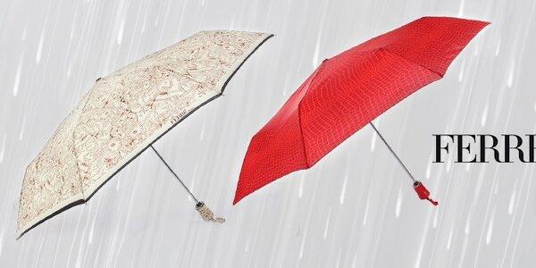 Poručíme větru, dešti - dámské deštníky Ferré Milano