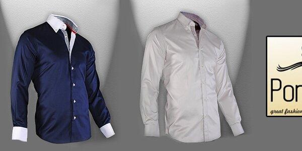 Kvalita a nadčasovost - pánské košile Pontto