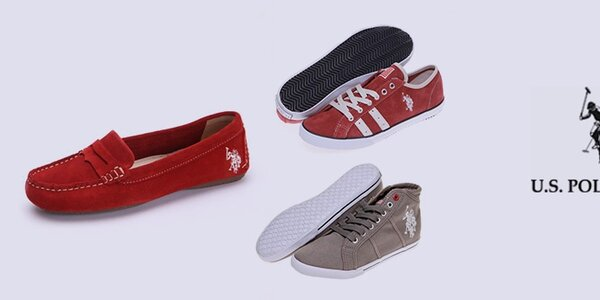 Sportovně-elagantní dámské boty U.S. Polo