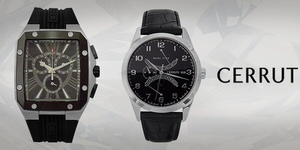 Hledání ztraceného času - pánské hodinky Cerruti 1881