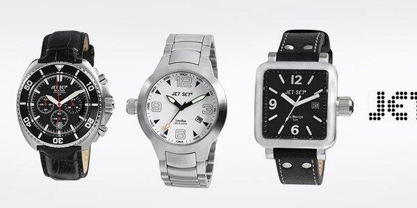 Hlídejte čas s luxusními hodinkami Jet Set