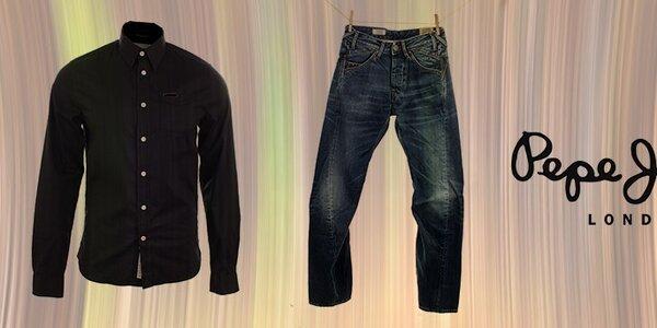 Značková denimová móda Pepe Jeans