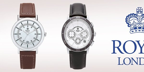 Luxusní hodinky s příběhem Royal London