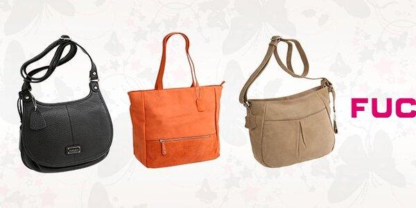 Elegantní kožené kabelky Fuchsia