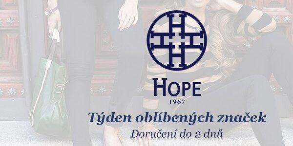 Svěží módní kousky od Hope