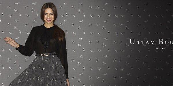Romantická, veselá i elegantní móda Uttam Boutique
