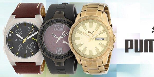 Sportovní i designové hodinky Puma