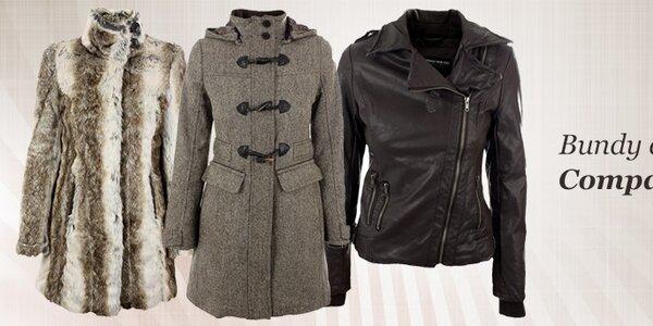 Elegantní kabáty, hřejivé kožíšky a bundy Company&Co