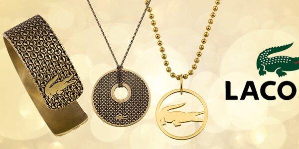 Ozdobte se originálními šperky Lacoste